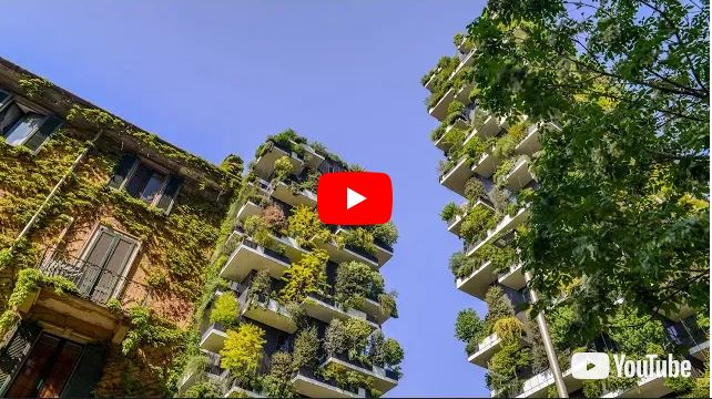 Bosco Verticale | Il grattacielo green più bello del mondo 🇮🇹 VIDEO 🎥