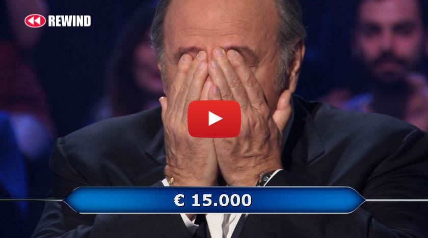 Gerry Scotti si commuove a Chi vuol essere milionario 📺 VIDEO 🎥