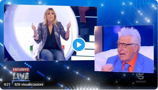 "Francesca Barra, rissa clamorosa con Lemme: ""Non sono grassa, sono incinta"" 📺 VIDEO"
