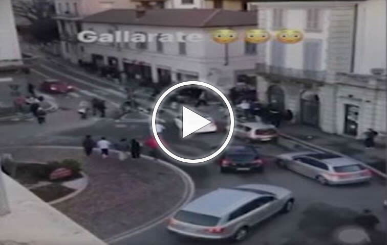Maxi rissa a Gallarate tra cento minorenni con mazze e catene – VIDEO